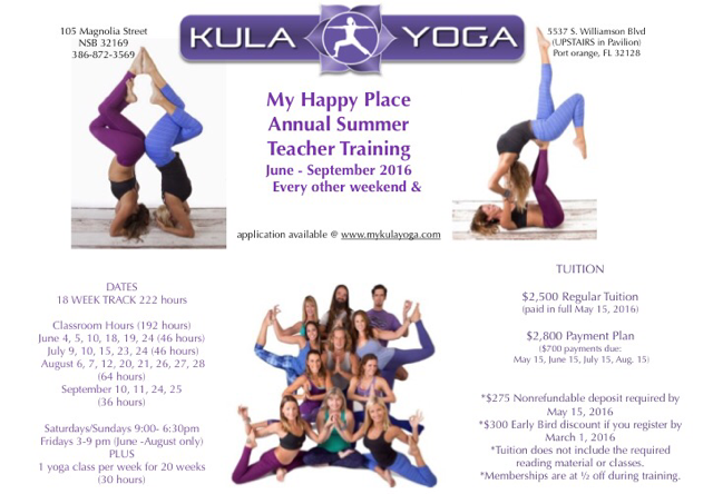 Kula Yoga Teacher Training