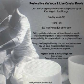 Brenda crystal bowl yin