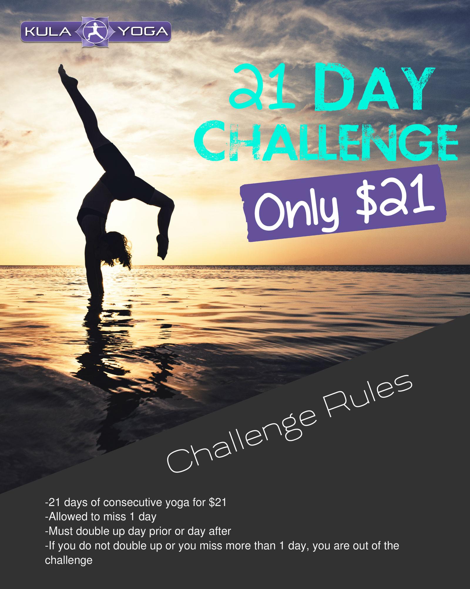 Kula Yoga 21 Day Challenge