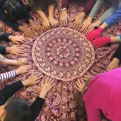 kula kids yoga blanket